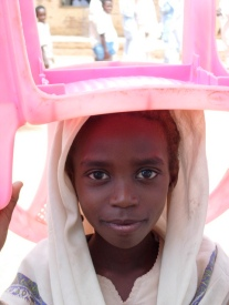Girl in Sudan who benefits from WFP scool feeding program. Credit WFP